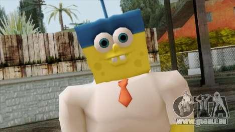 Spongebob as Mr.Invincibubble pour GTA San Andreas troisième écran