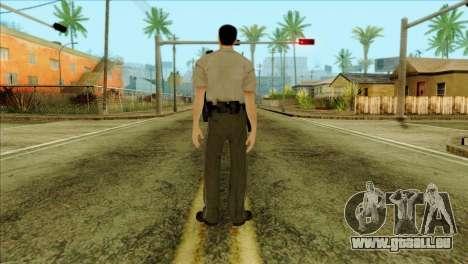 Depurty Alex Shepherd Skin pour GTA San Andreas deuxième écran