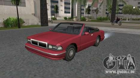 Premier Cabrio pour GTA San Andreas