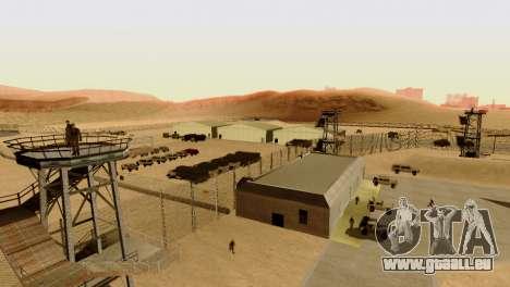 DLC 3.0 Militaire mise à jour pour GTA San Andreas neuvième écran