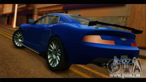 MP3 Dewbauchee XSL650R IVF pour GTA San Andreas laissé vue