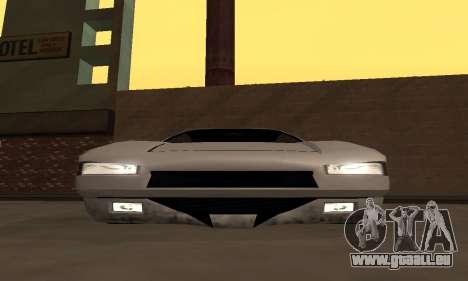 Infernus BanDit pour GTA San Andreas vue de droite