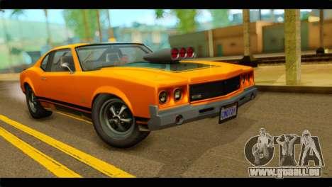 GTA 5 Declasse Sabre GT Turbo IVF pour GTA San Andreas
