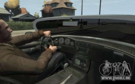 GTA 3 Bravado Banshee HD für GTA 4 Rückansicht