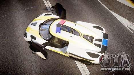 Koenigsegg Agera 2013 Police [EPM] v1.1 Low Qual für GTA 4 rechte Ansicht
