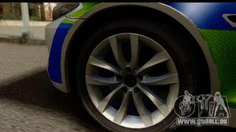 BMW 530d Kent Police RPU pour GTA San Andreas vue arrière