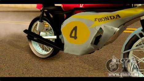 Honda RC 181 1967 für GTA San Andreas rechten Ansicht