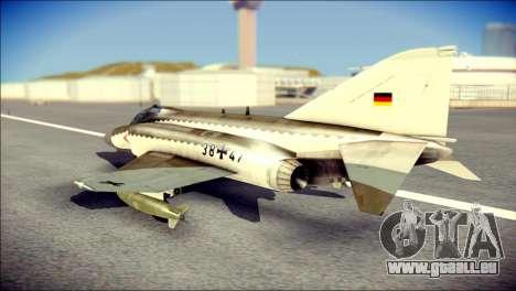 McDonnell Douglas F-4F Luftwaffe pour GTA San Andreas laissé vue