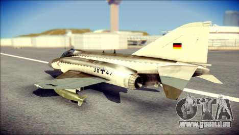 McDonnell Douglas F-4F Luftwaffe für GTA San Andreas linke Ansicht