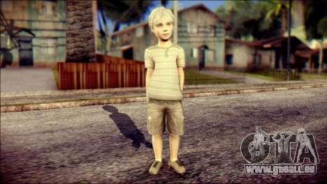Dante Child Skin pour GTA San Andreas