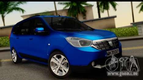 Dacia Lodgy 2014 für GTA San Andreas