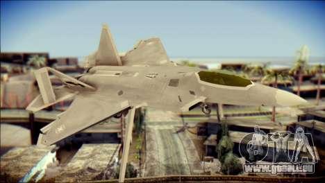 F-22 Gryphus, Falco and Antares pour GTA San Andreas