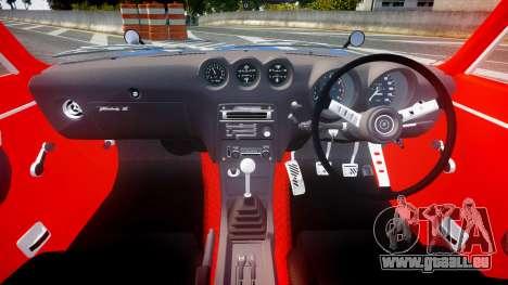 Nissan Fairlady Devil Z pour GTA 4 Vue arrière