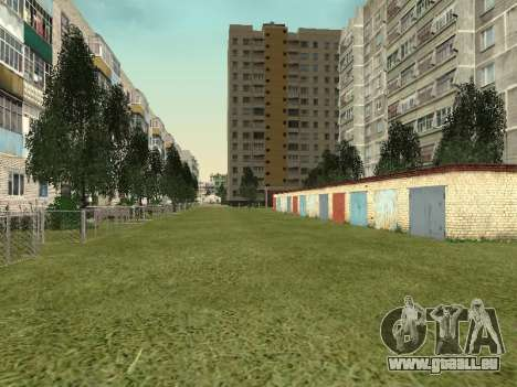 Prostokvashino für GTA Criminal Russia beta 2 für GTA San Andreas neunten Screenshot