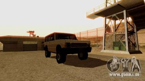 DLC 3.0 Militär-update für GTA San Andreas zehnten Screenshot