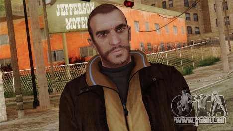 Niko from GTA 5 pour GTA San Andreas troisième écran