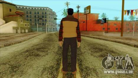 Big Rig Alex Shepherd Skin für GTA San Andreas zweiten Screenshot
