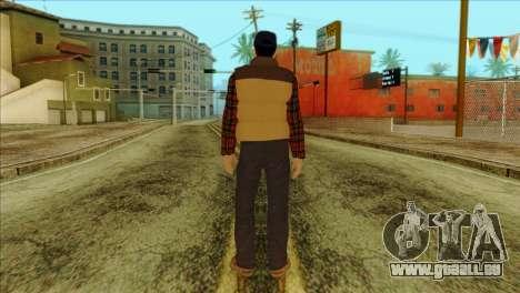 Big Rig Alex Shepherd Skin pour GTA San Andreas deuxième écran