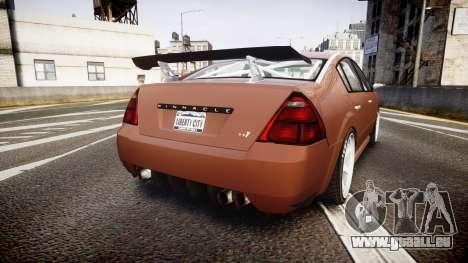 Annis Pinnacle RT [Final] pour GTA 4 Vue arrière de la gauche