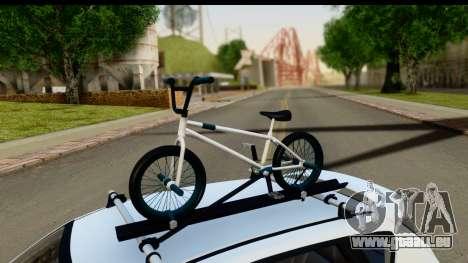 Mazda 3 2008 pour GTA San Andreas vue intérieure