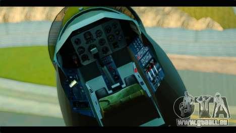 GTA 5 Besra pour GTA San Andreas vue de droite