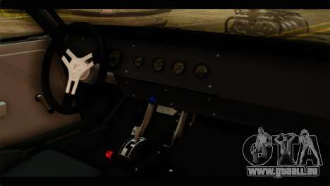 Dodge Charger RT 1970 für GTA San Andreas Rückansicht