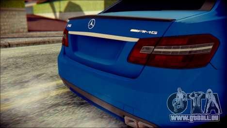 Mercedes-Benz AMG für GTA San Andreas Rückansicht
