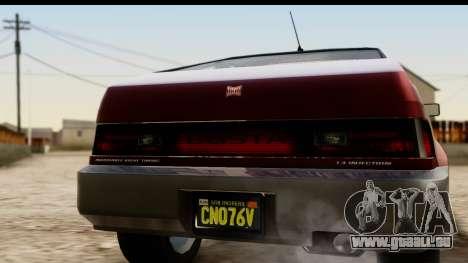 GTA 5 Dinka Blista Compact pour GTA San Andreas vue de droite