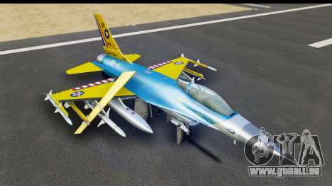 F-16C USAF 111th FS 90th Anniversary für GTA San Andreas