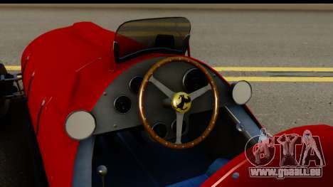 Ferrari 375 F1 für GTA San Andreas Innenansicht