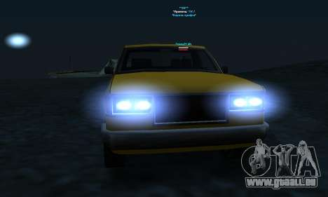 PS2 Yosemite für GTA San Andreas Seitenansicht