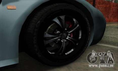 Mitsuoka Orochi Nude Top Roadster für GTA San Andreas zurück linke Ansicht