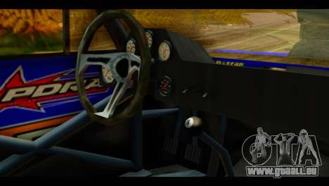Chevy Nova NOS DRAG pour GTA San Andreas vue de droite