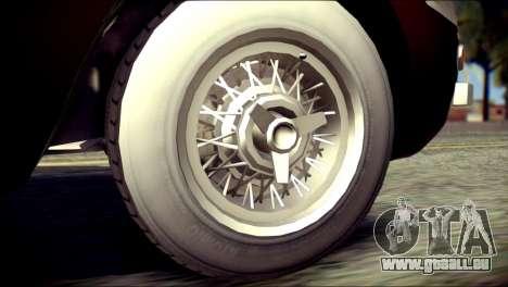 GTA 5 Dewbauchee JB 700 für GTA San Andreas zurück linke Ansicht