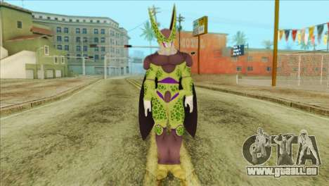 Dragon Ball Xenoverse Cell Perfect für GTA San Andreas