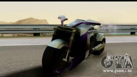 Krol Taurus Concept HD A.D.O.M v1.0 für GTA San Andreas zurück linke Ansicht
