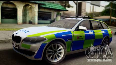 BMW 530d Kent Police RPU pour GTA San Andreas