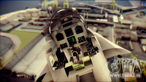 F-18D Swiss Air Force pour GTA San Andreas vue arrière