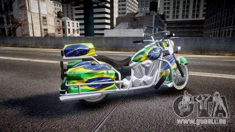 GTA V Western Motorcycle Company Sovereign BRA für GTA 4 linke Ansicht