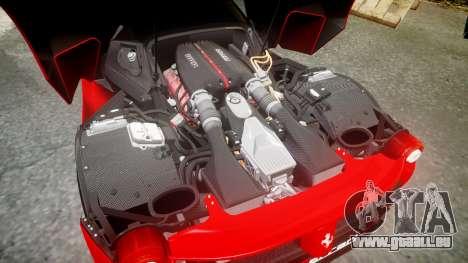Ferrari LaFerrari 2013 HQ [EPM] PJ4 pour GTA 4 vue de dessus