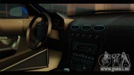 MP3 Dewbauchee XSL650R IVF pour GTA San Andreas vue de droite