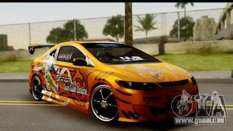 Honda Civic SI Juiced Tuned Shinon Itasha für GTA San Andreas