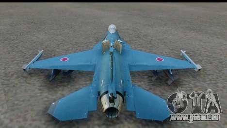 F-2A Viper Blue pour GTA San Andreas laissé vue