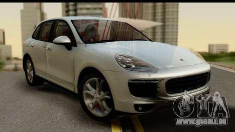 Porsche Cayenne S 2015 pour GTA San Andreas