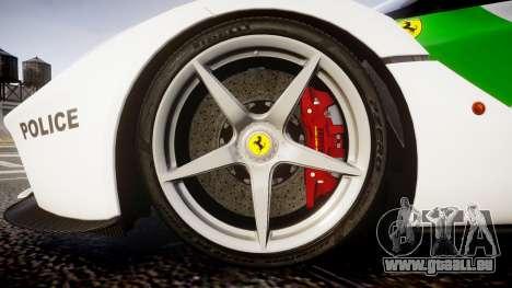 Ferrari LaFerrari 2013 HQ [EPM] PJ2 pour GTA 4 Vue arrière