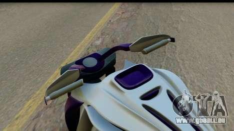 Krol Taurus Concept HD A.D.O.M v1.0 für GTA San Andreas Rückansicht