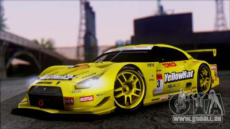 Nissan GTR R35 JGTC Yellowhat Tomica 2008 pour GTA San Andreas