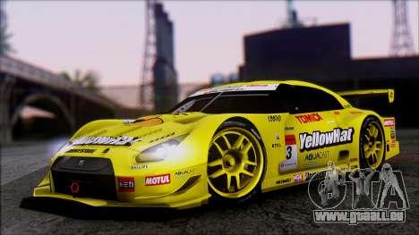 Nissan GTR R35 JGTC Yellowhat Tomica 2008 pour GTA San Andreas
