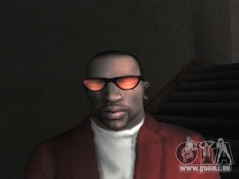 De nouvelles lunettes pour CJ pour GTA San Andreas