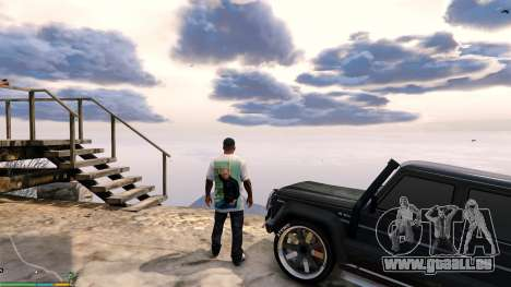 GTA 5 T-shirt for Franklin. - Fizruk troisième capture d'écran